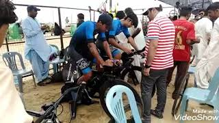 4th National Road Cycling Championship karachi 2019. Complete Highlights.