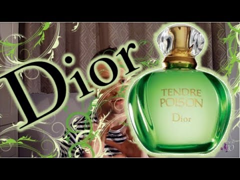Christian Dior Tendre Poison Fragrance Review Youtube