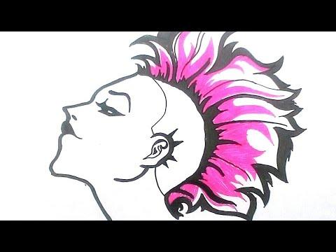 Kumpulan Gambar Kartun Anak Punk Gratis Terbaru