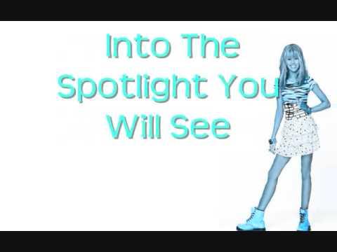 Hannah Montana- Spotlight Lyrics