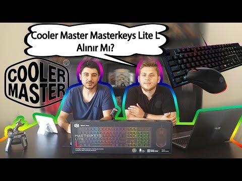 Cooler Master Masterkeys Lite L Combo RGB Set İncelemesi |Alınır Mı?