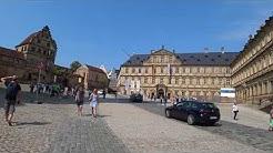 Der imposante Domplatz von Bamberg (The imposing Domplatz of Bamberg)