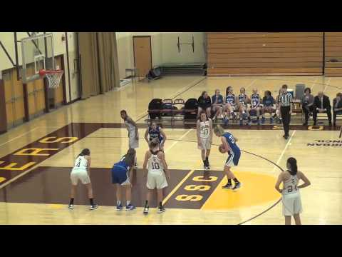 saratoga vs colonie Jaclyn Welch #10   17 Points
