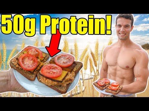 Super High Protein Breakfast Sandwich Recipe | 50g of Protein!