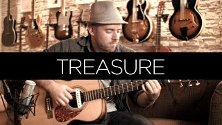 Baixar Treasure (Bruno Mars) - Acoustic Guitar Solo Cover (Violão Fingerstyle)