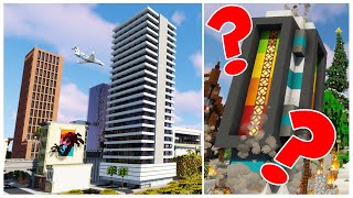 Hermitcraft 7 | Ep.56: THE ECLIPSE TOWERS (GTA5) & BUTTON 2.0?