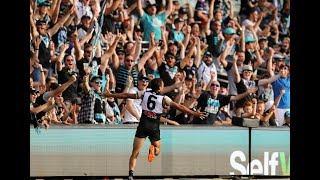 Motlop's running dribbler - Round 1 2018 - AFL