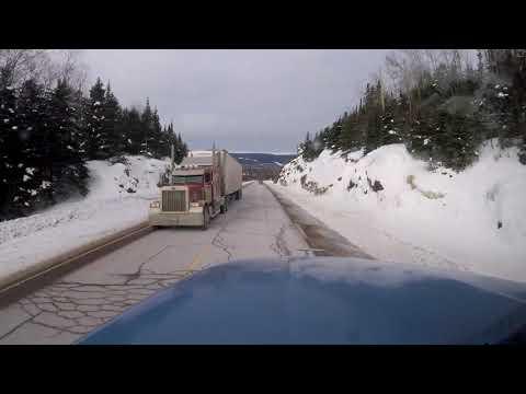 Ontario Highway 17 bei Nipigon - Truck Taxi #6