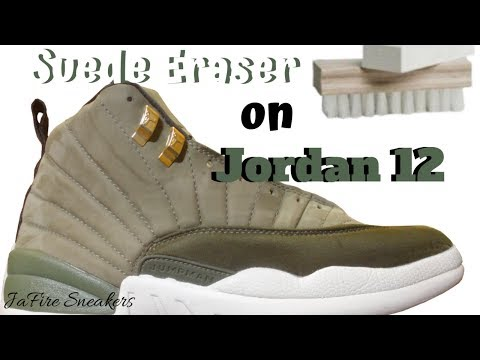 How To Clean Suede Shoes - Restore Jordan 12 Retro CP3