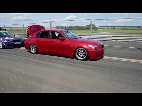 Bmw  5er E60 Tuning Show Car Sounds & Burnout