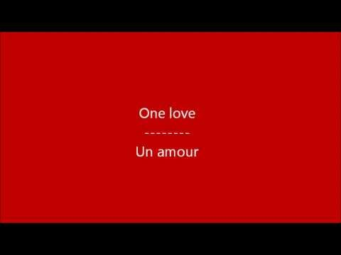 Glee - One love / Paroles & Traduction