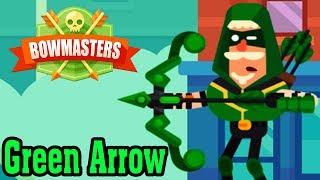 Nhân Vật Mới Green Arrow Cực Chất | Bowmaster | Top Game Mobile Hay Android, Ios