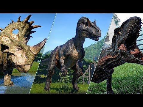 ALL 48 DINOSAURS - Jurassic World Evolution