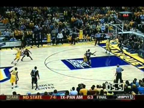 2007 Jerry Smith Buzzer Beater Against Marquette