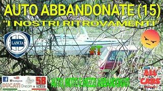 """AUTO ABBANDONATE (15) """"I NOSTRI RITROVAMENTI"""" (AUTO MOTO E MEZZI ABBANDONATI)"""