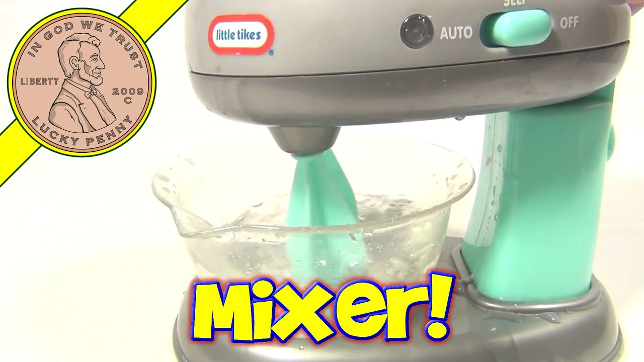 Uncategorized Kitchen Appliances Mixers little tikes toy kitchen appliance mixer youtube