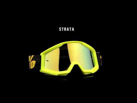 ❖茂木站 MTG❖ 美國 100% 風鏡 STRATA 護目鏡 越野 林道 滑胎 防霧 防風沙。Furnace 透明片