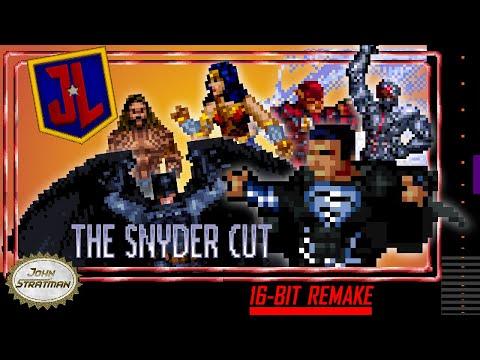 Justice League: The Snyder Cut   16-bit Trailer Remake