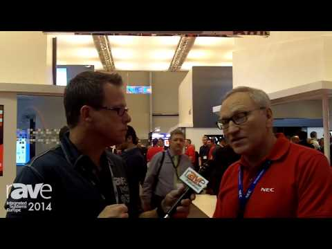 ISE 2014: Gary Kayye Talks to NEC's Jonathan Cooper About Large Indoor/Outdoor LED Screens