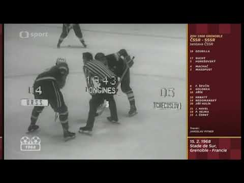 ČSSR - ZSSR 5:4 (ZOH 1968 - hokej)