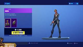 *YOU ONLY HAVE 24HRS* SOFIA SKINS Fortnite ITEM SHOP! TODAY JUNE 27! (Fortnite Battle Royale)