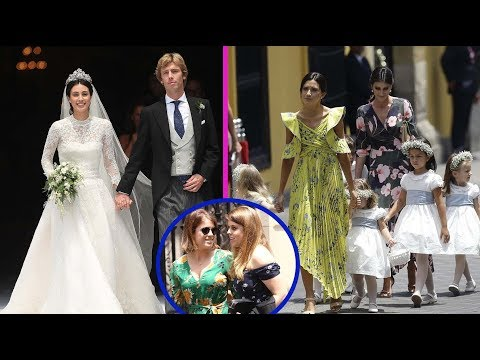 Fairytale wedding! Kate Moss joins Princesses Beatrice at lavish star-studded ceremony fo Christian