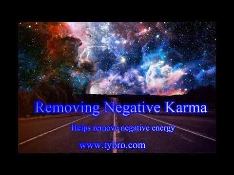 Removing Negative Karma