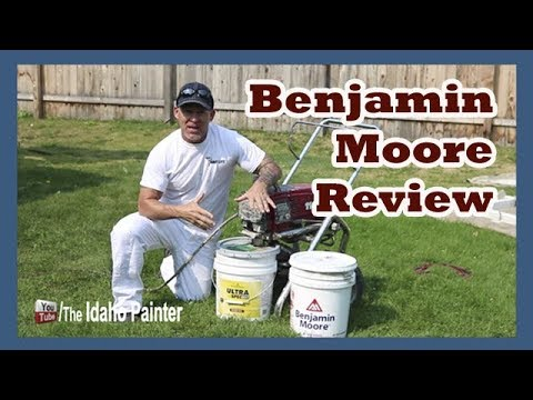 Benjamin Moore paint review. - YouTube