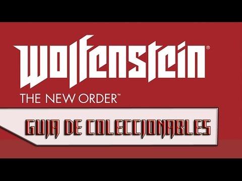 Wolfenstein: The New Order - Guía de Coleccionables (Códigos Enigma, Piezas de Oro y Cartas)