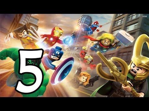 Прохождение LEGO Marvel Super Heroes  — Часть 5: Перезагрузка и перевооружение