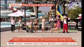 Livia Celea Streata - Haide-ti la joc! (PRIMA AUDITIE) Emisiune estivala la piscina 28 august 2015