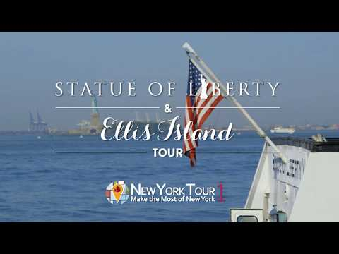 Statue of Liberty & Ellis Island Tour + Pedestal Access - Video