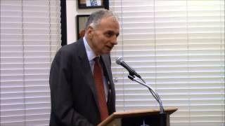 Ralph Nader Discusses Unstoppable at Book Passage