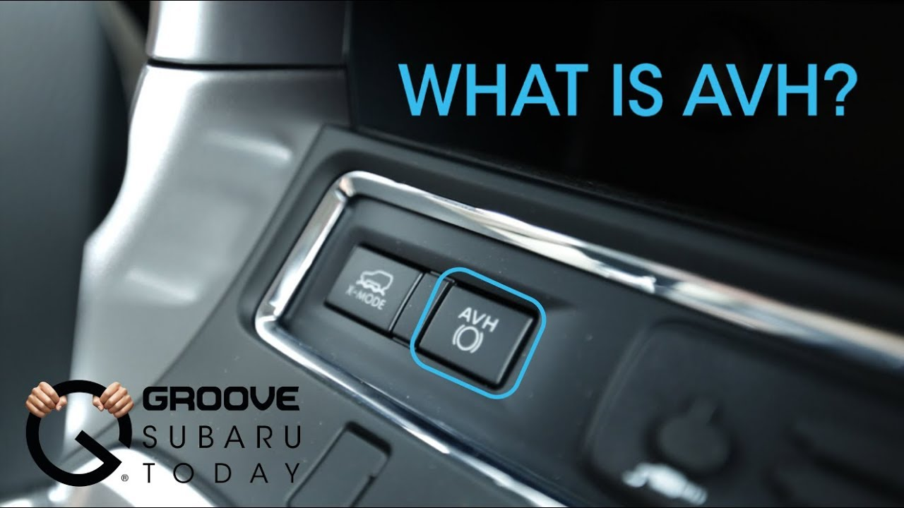 New Feature  Auto Vehicle Hold Avh Mode On The Subaru
