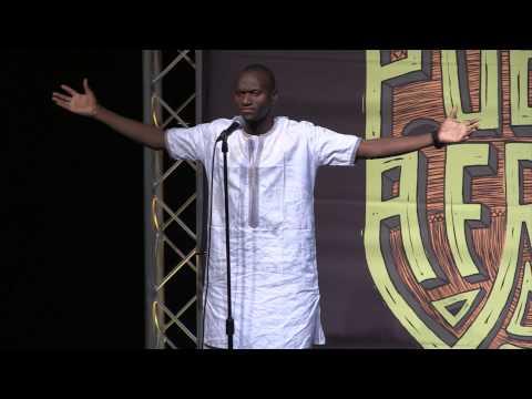 Aziz Siten'k at POETRY AFRICA 2014
