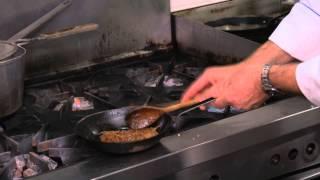 Grilled Porter Marinated New York Steak