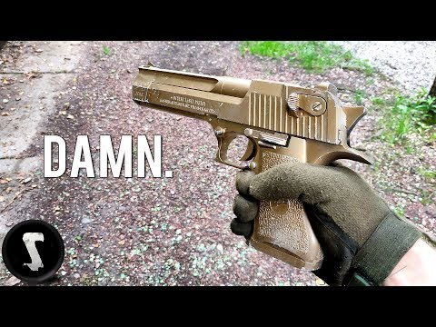 The Golden Overpowered Airsoft Desert Eagle you will WANT. streaming vf