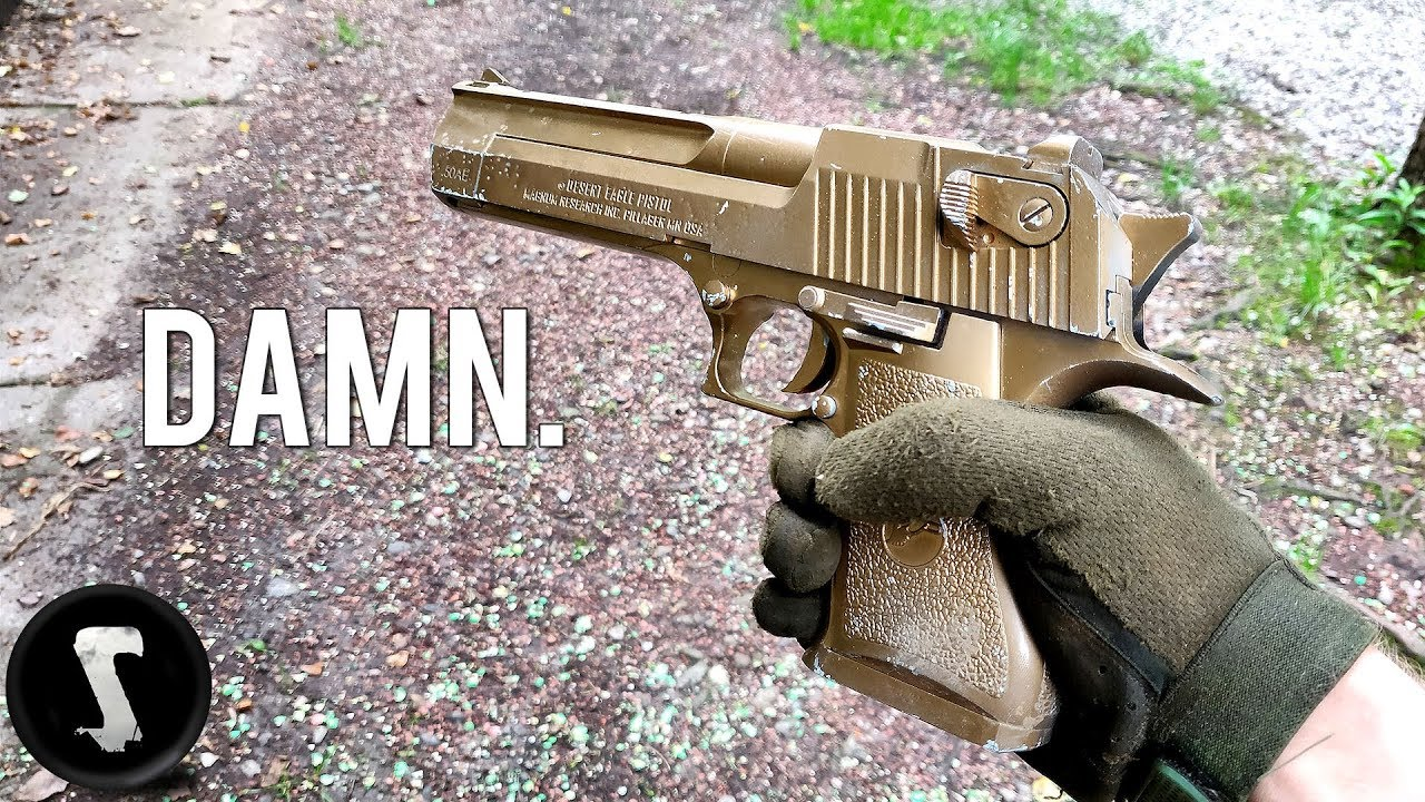 Download The Golden Overpowered Airsoft Desert Eagle you will WANT.