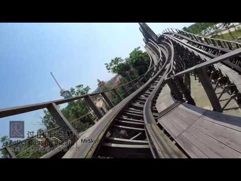 Jungle Trailblazer Onride Mounted Go Pro 1080P 60FPS POV Fantawild Dreamland Zhuzhou