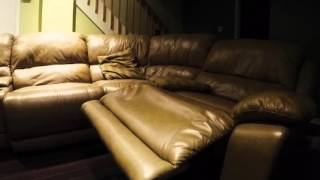Leather Sofa (Cindy Crawford Home) PERFECT CONDITION!
