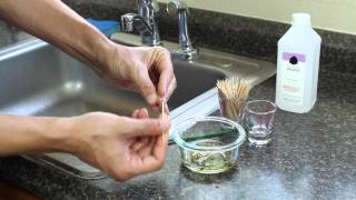 How To Clean Glass Tips