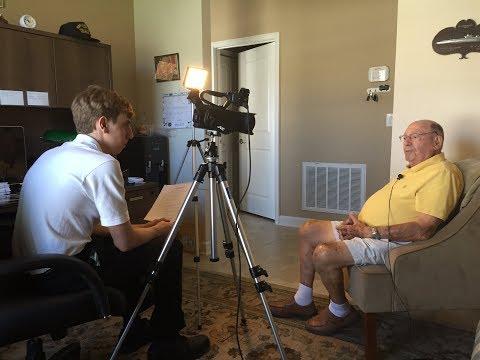 USS Queenfish WWII - Interview With WWII Veteran Robert Dickinson, US Navy