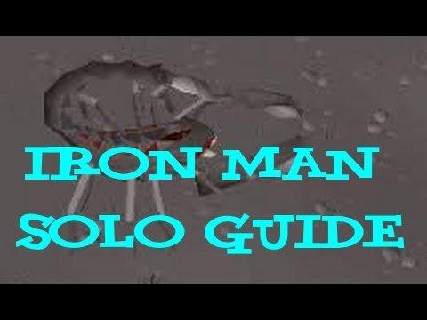 Iron Man Solo Scorpia Guide - 2007 Runescape
