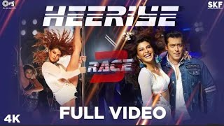 Race 3 full movie song (salman khan )