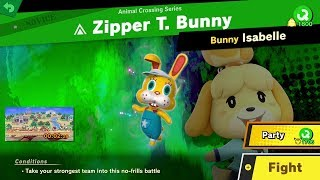858. Zipper T. Bunny - Fair Spirit Battle - Super Smash Bros. Ultimate