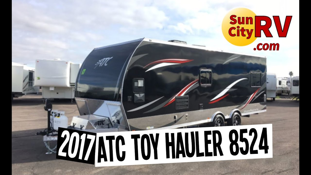 Atc Aluminum Trailer Toy Hauler 8524 For Sale Phoenix Toy