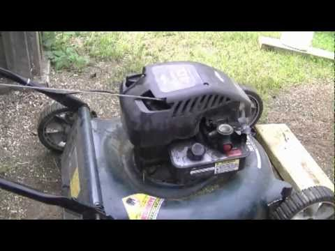 HOW-TO ADJUST THE ENGINE RPMS ON A BRIGGS AND STRATTON LAWNMOWER