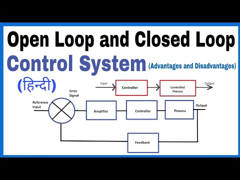 Open Loop Control System and Closed Loop Control System in Hindi, |Advantages and Disadvantages|