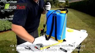 Opryskiwacz kompresyjny plecakowy 16l, 20l, Gardetech