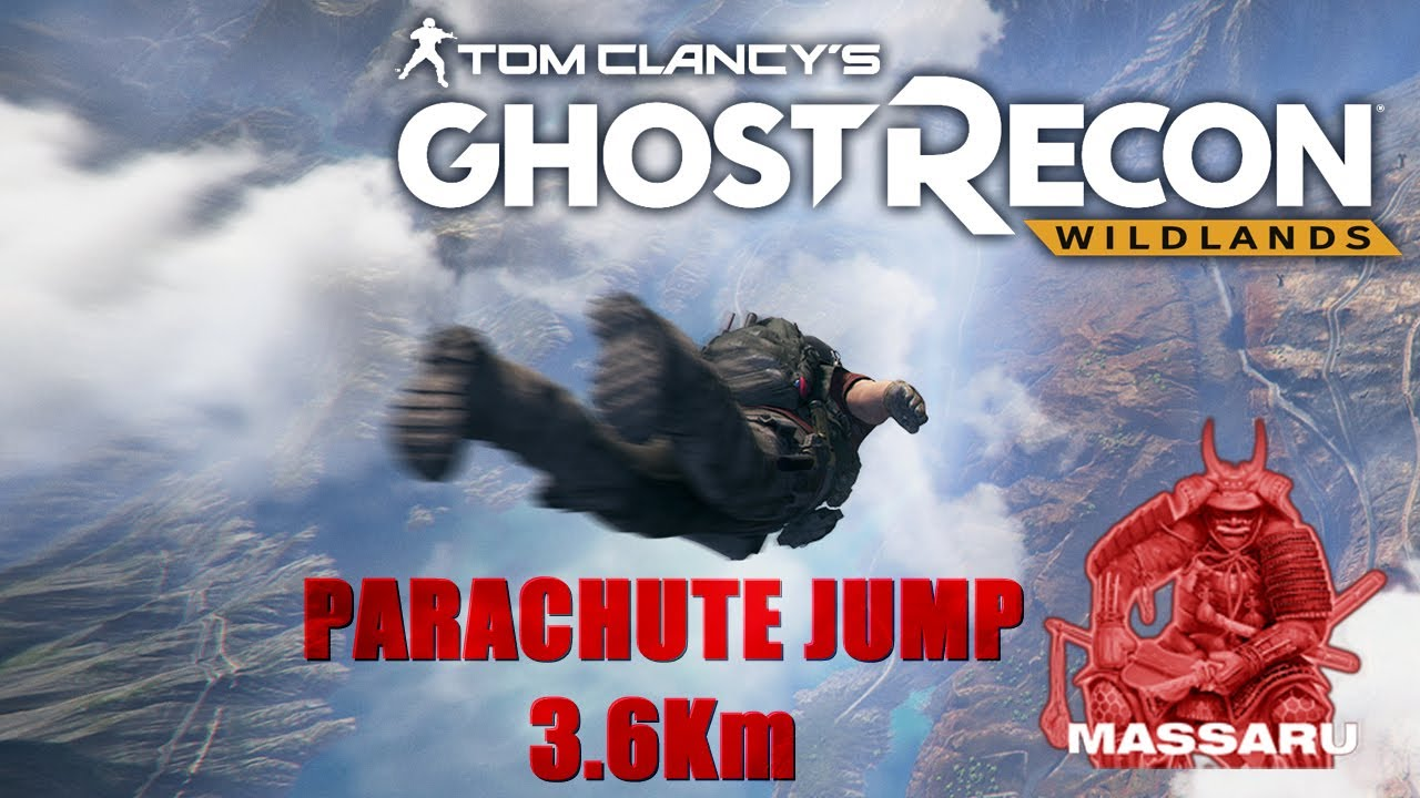 Ghost Recon Wildlands Parachuting Wallpaper 10222: Ghost Recon Wildlands - PC HD